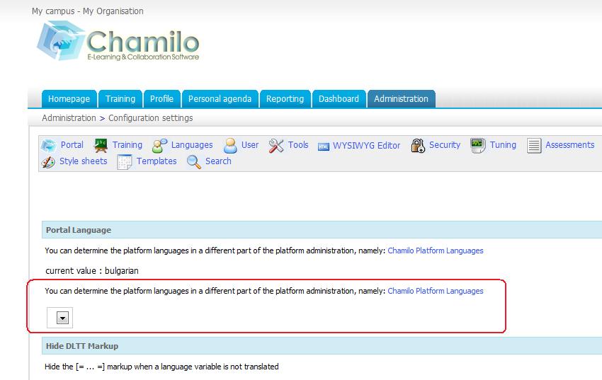Feature #272: UTF-8 native support - Chamilo LMS - Chamilo